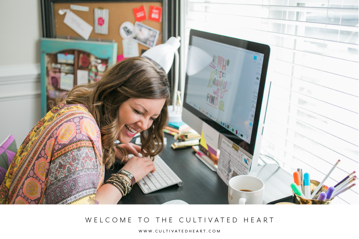The Cultivated Heart is meant to help yousow a fulfilling life by cultivating yourheart.  Photo by: Chloe Giancola Photography