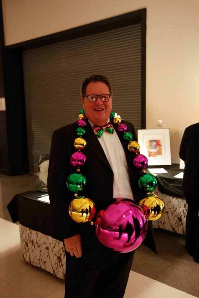 2015 King David Hedgepeth, at the 2014 Krewe of Allegro Ball