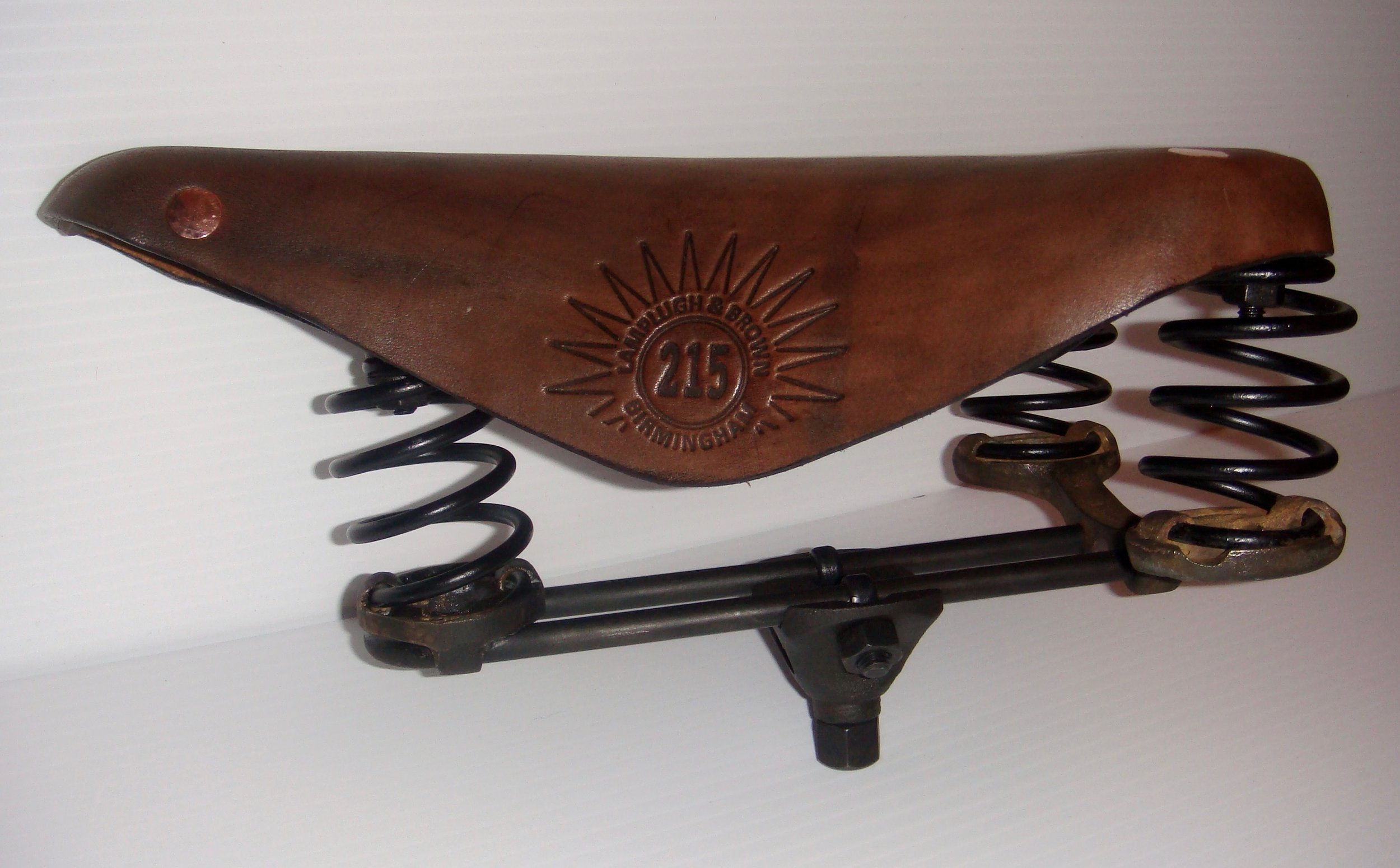 1887 to 1892 Lamplugh & Brown Model No. 215  Frame only ---- $775.00 Complete with Leather cover ---- $1225.00.