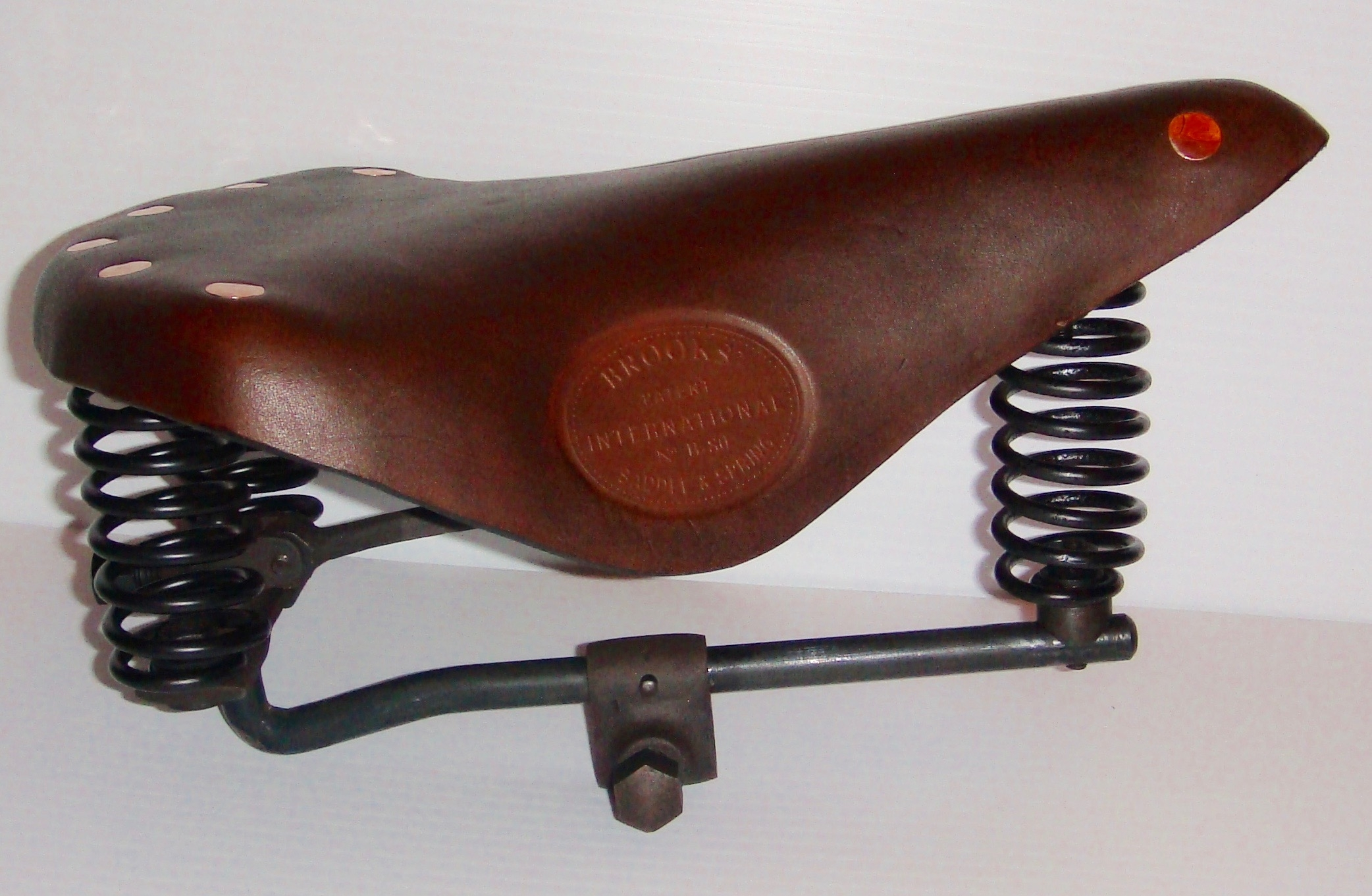 "1888 to 1892 Brooks ""International"" B - 80 Frame only ----- $825.00 Complete with Leather cover--------"