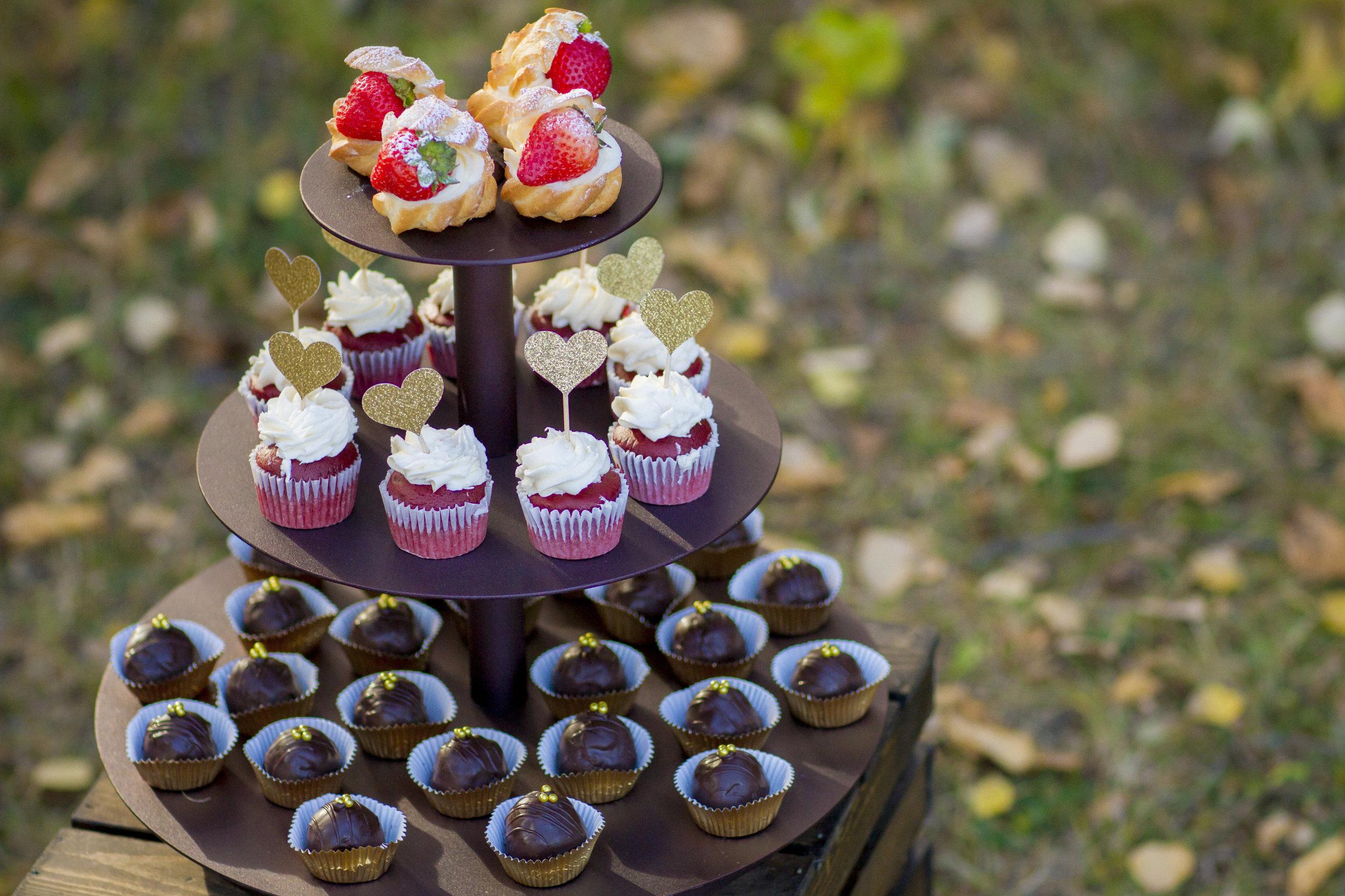 Autumn Wedding Dessert Table