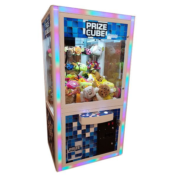 Includes  ONE  fill of Toys. The game is placed on free play and the setting is placed on easy. If you would like to request a certain type of toy go in the Crane there is an additional cost associated with this.
