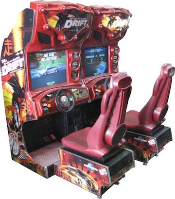 Fast and Furious Drift *Also available in 1 player cabinet for $350