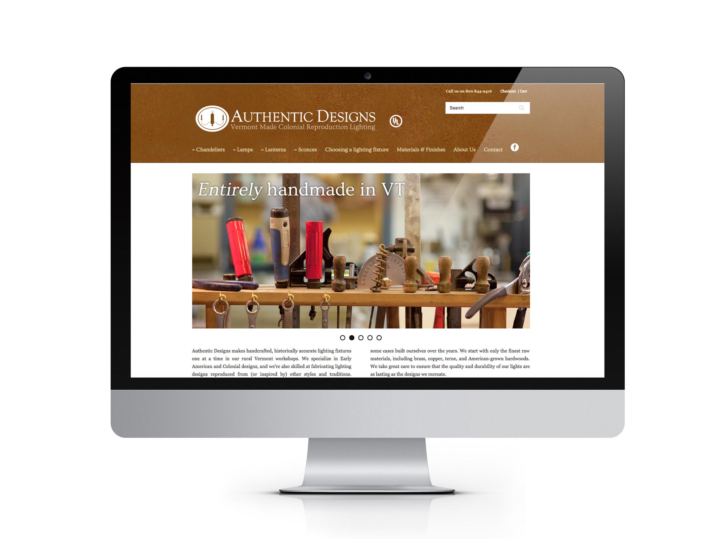 Homepage in situ