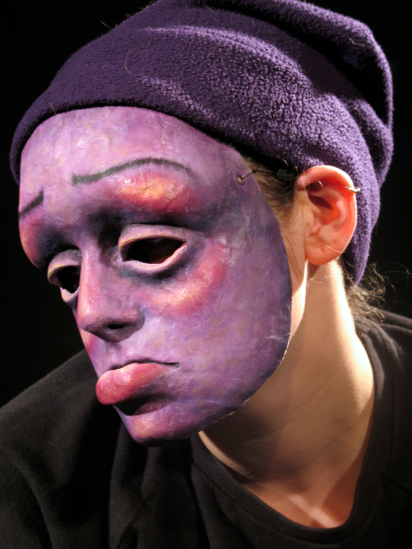 Untitled Purple Mask, 2006