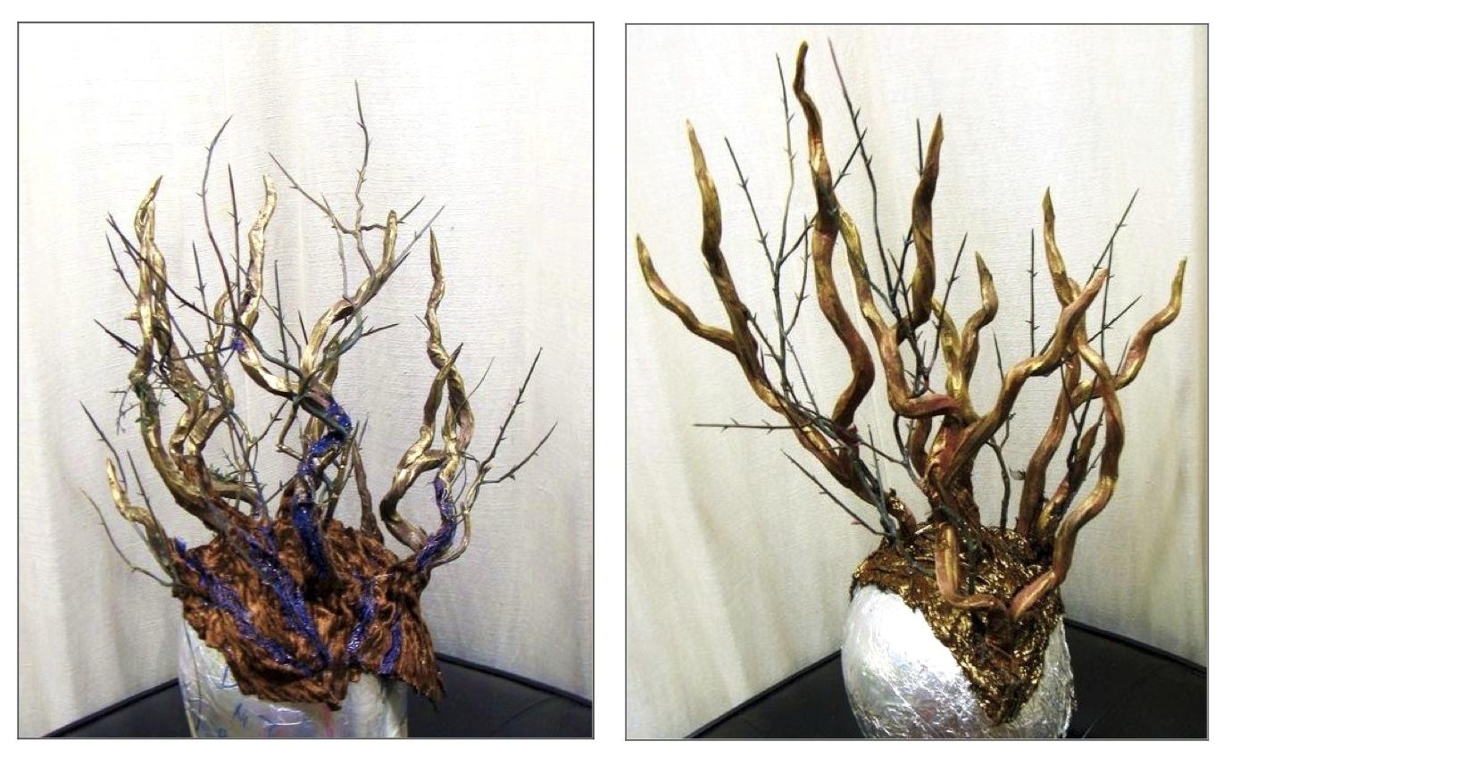 Tree Headpieces, Izquierdo Studio 2011