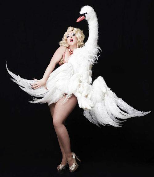 """Miss Dirty Martini with """"ZEUS"""", Basil Twist 2013"""