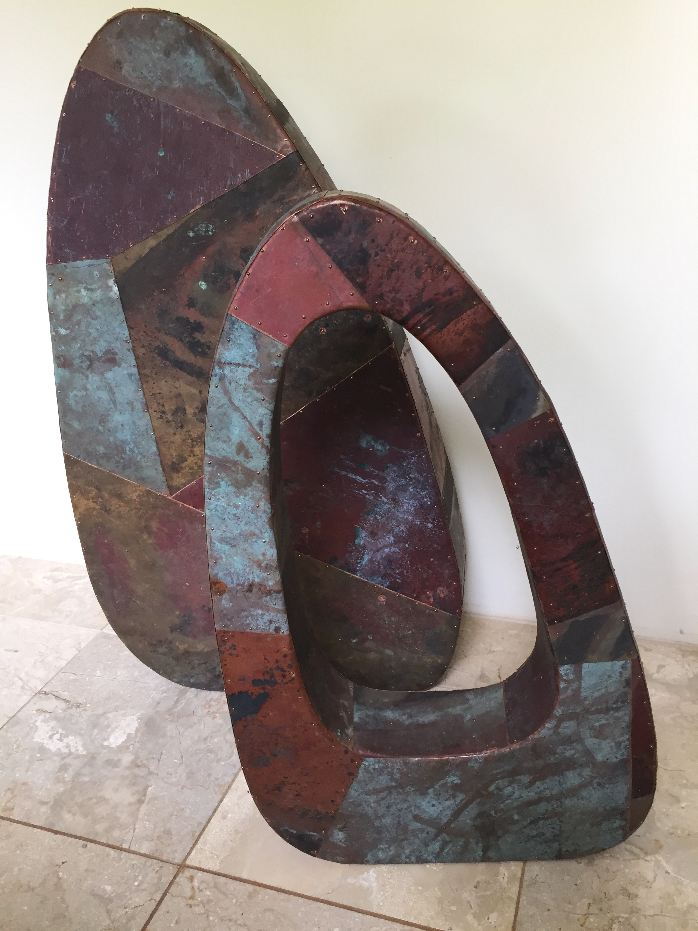 Barclay Hill,  artisan member of the Maui Crafts Guild,  and showing at the Hui juried competition 2019