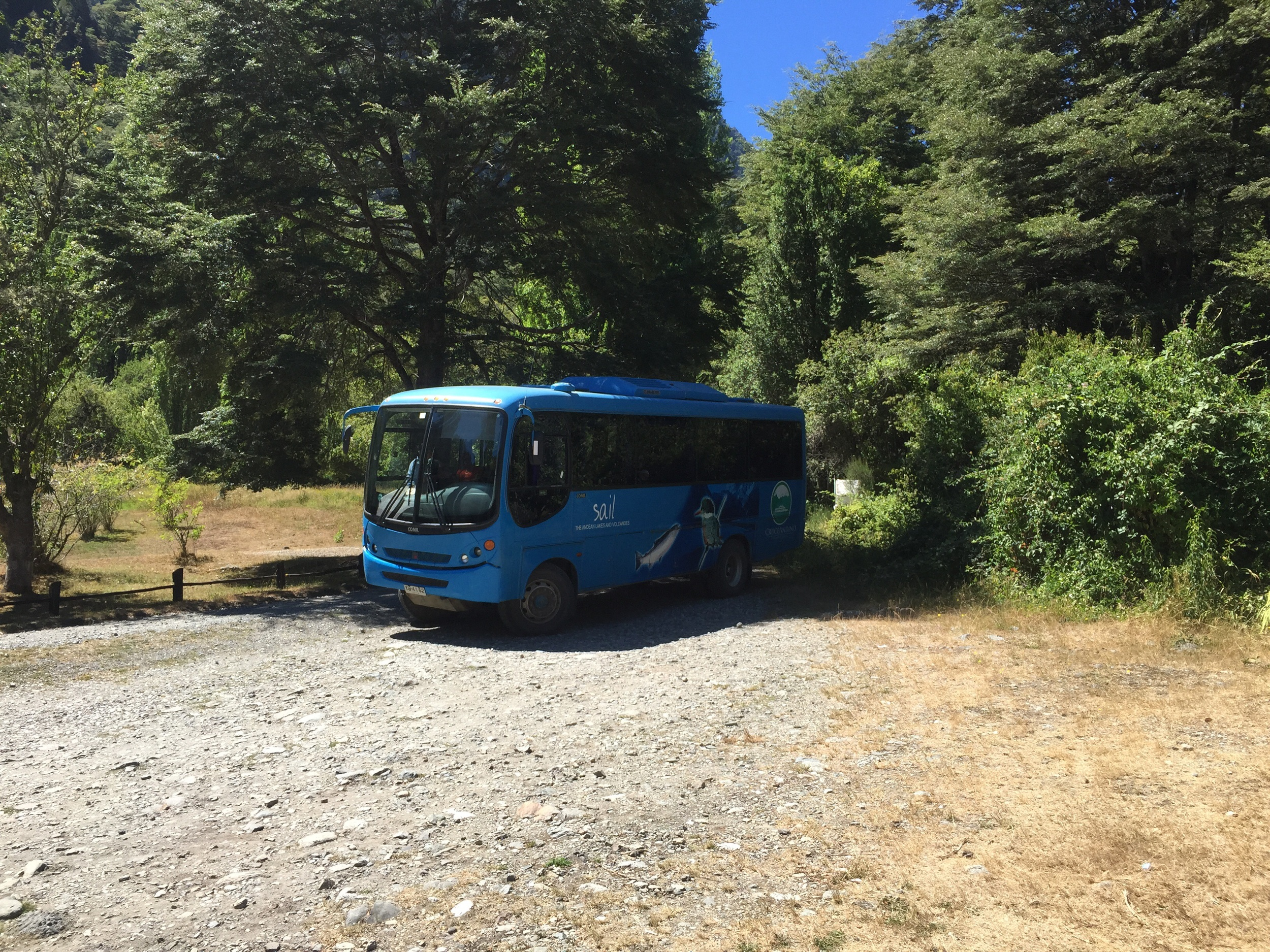 Our off road bus across the Andes. The guy driving this was a pro.