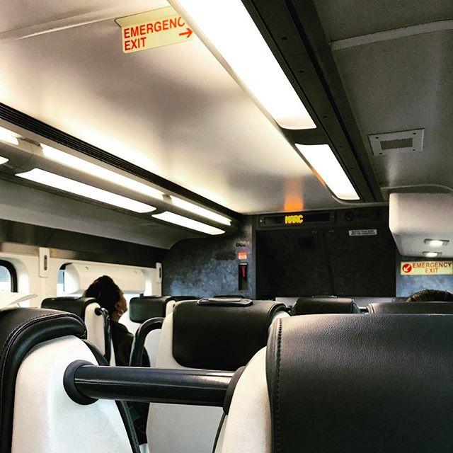 Midday train to Baltimore.