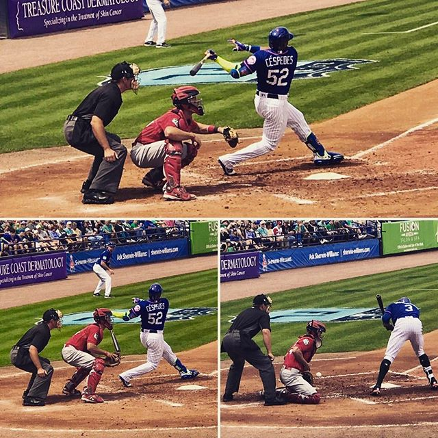 An anatomy of an At Bat with Yoenis Céspedes from Friday's Mets - Cardinals blowout. He eventually walked.