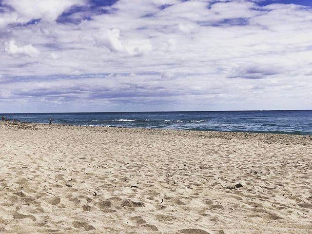 Saturday on a South Florida beach.