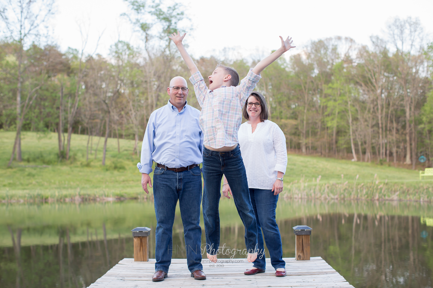 Family Session at The Farm Retreat at Willow Creek
