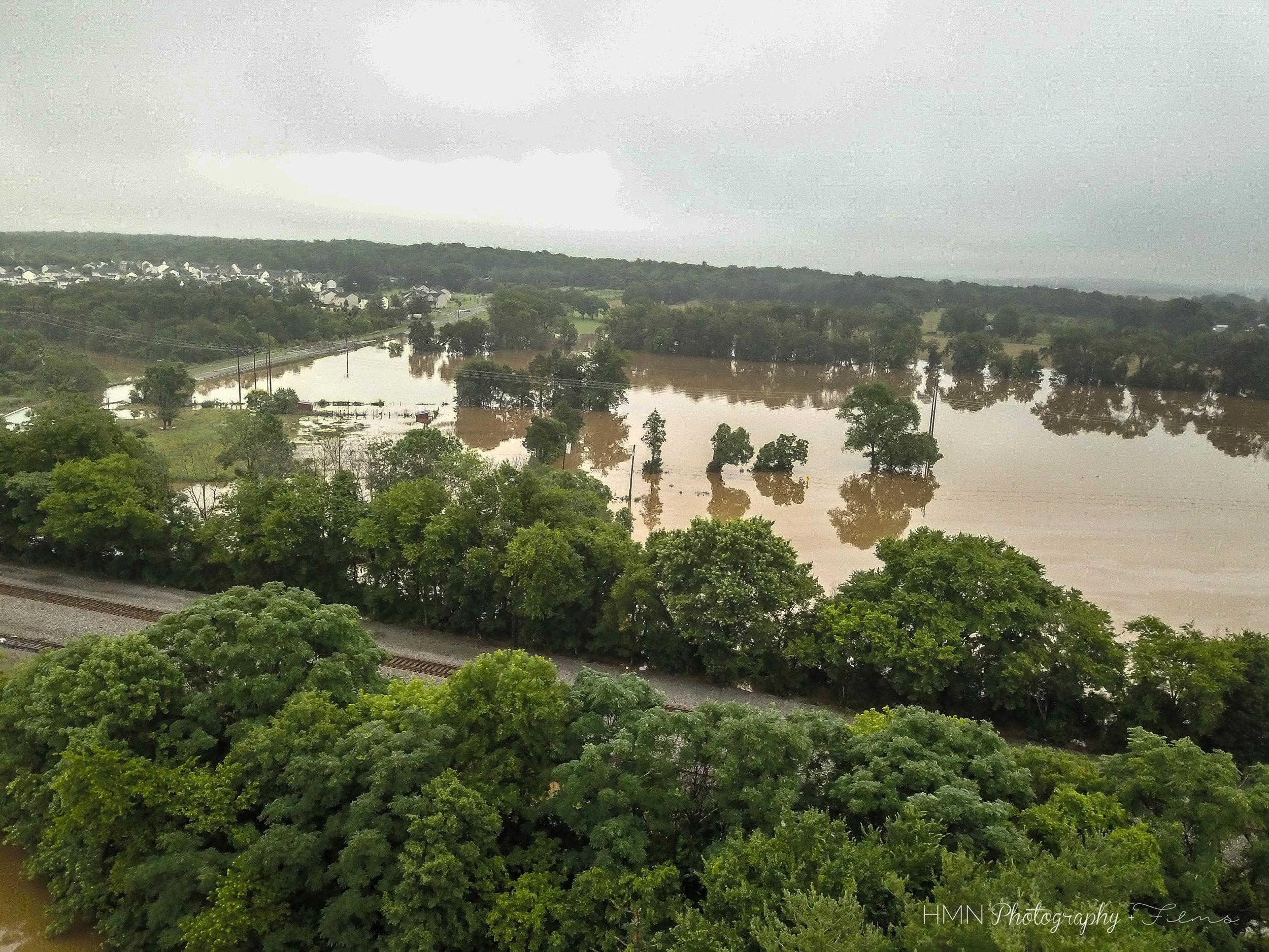 Flooding in Remington, VA June 2018