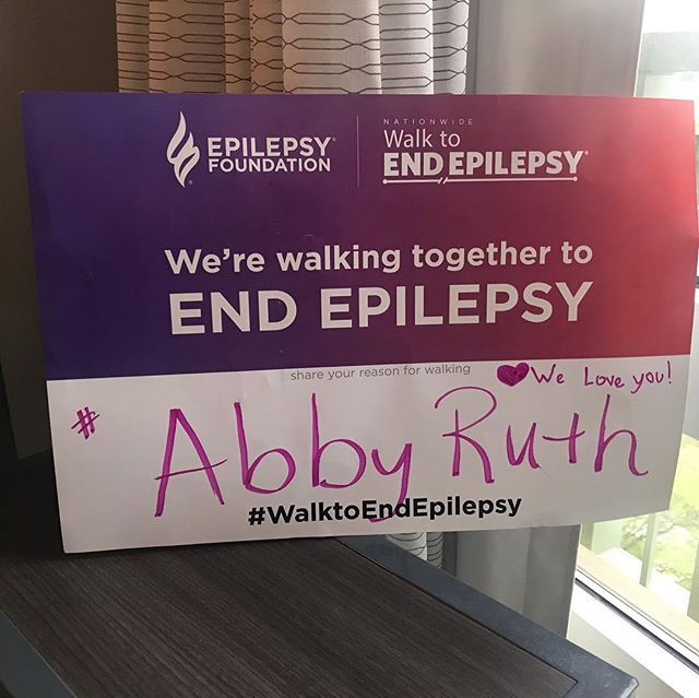 Last weekend we participated in the national epilepsy walk in DC. It was a whirlwind weekend and we didn't even make it through the whole walk because it was so windy and the kids were overwhelmed and tired. It has been 2 years since Abby has been diagnosed and it's been a roller coaster of emotions. Numerous doctor, therapy, and IEP appointments to ensure she is learning and able to become independent. I love being apart of these events and being around families that are dealing with the same things. I hope that one day she will look back at these photos and know how much she is loved and fought for! She is an amazing kid and I am excited to see her progress in this new chapter this year. Last week was 4 months without a seizure. We pray everyday for a cure and to be seizure free! #epilepsyawareness #nationalepilepsyfoundation #epilepsywarrior #epilepsyfoundation #walktoendepilepsy #abbyruth #epilepsywalk2019 #iphonepics