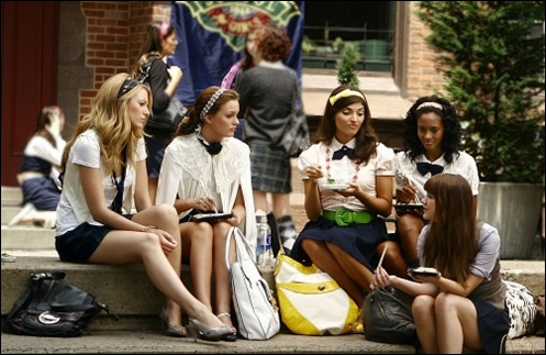 Getting your kid into a specialized public school or private school can be difficult and stressful, but they all get in somewhere... (Gossip Girl)
