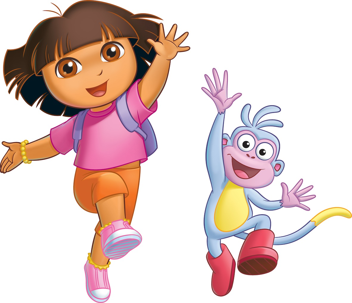 From Dora the Explorer