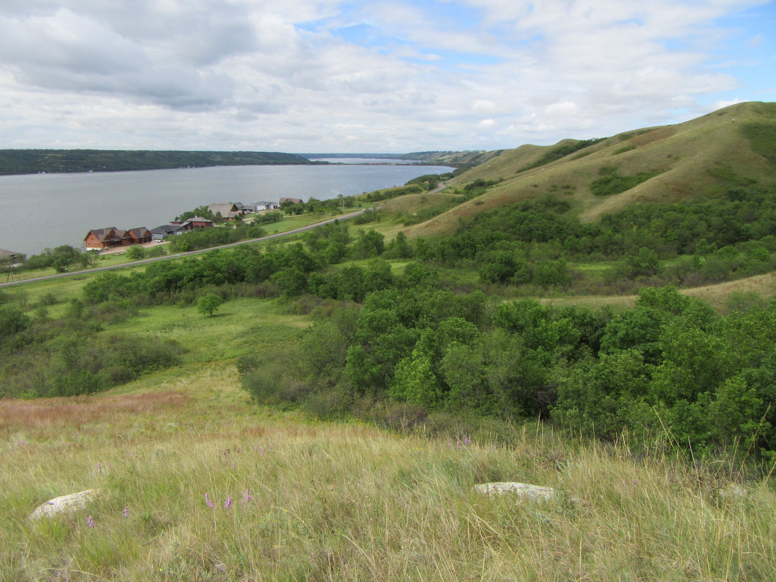 Proposed campground development in the Qu'Appelle valley.
