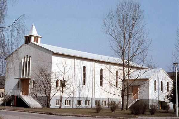 Fliegerhorst Chapel Germany
