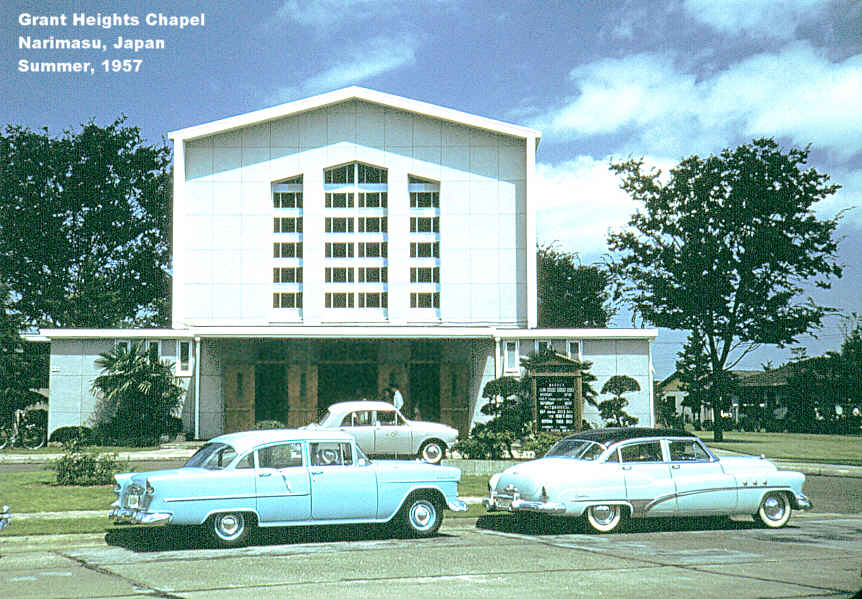 Grant Heights Chapel, 1957