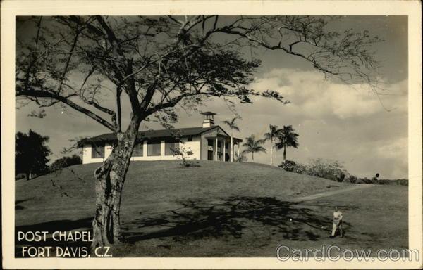 Ft Davis Chapel Panama