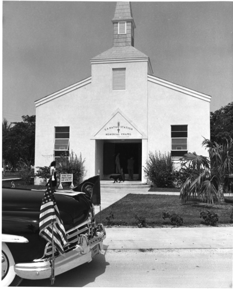 Naval Station Memorial Chapel at Key West Florida
