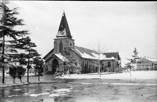 Old Schimmelpfennig Chapel Camp Sendai Japan