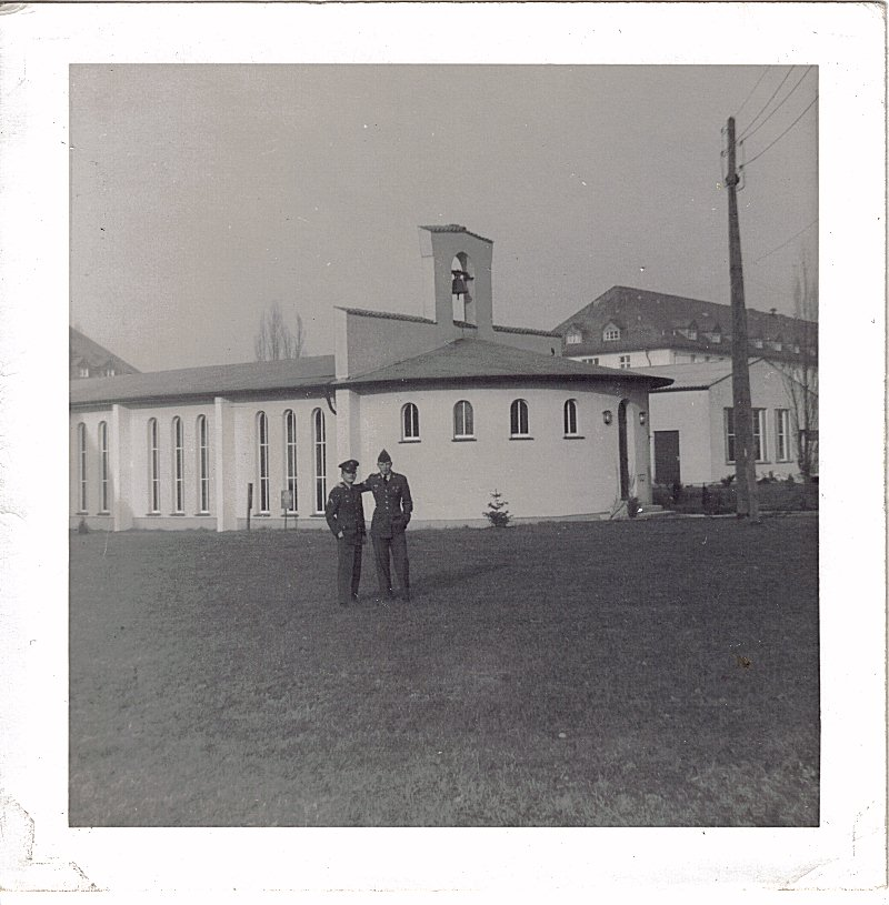 Rivers Barracks Chapel, Giessen,W Germany