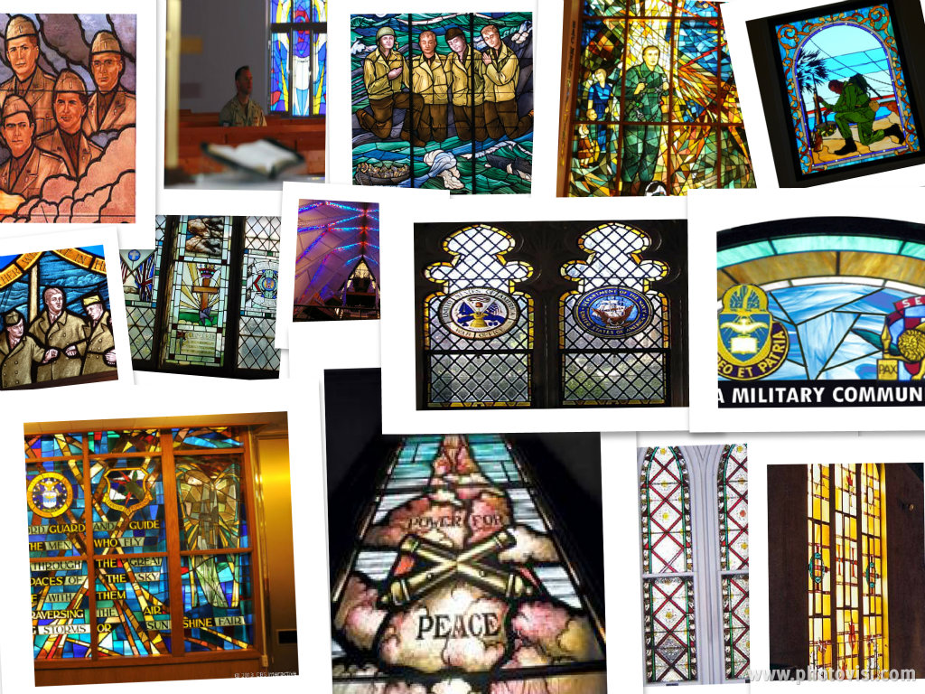 BASE CHAPELS STAINED GLASS