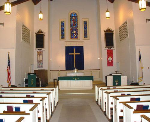 David Adams Memorial Chapel Naval Station Norfolk