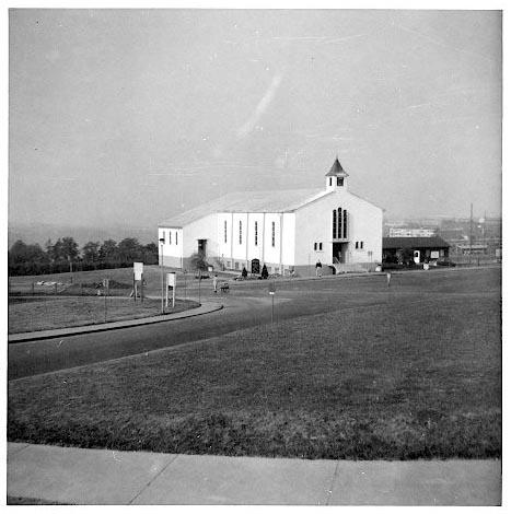 Post Chapel Husterhoeh Kaserne, Pirmasens 1959