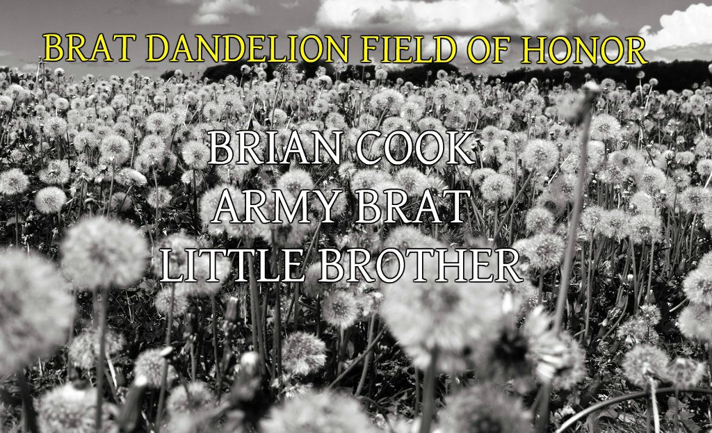 BRIAN COOK BRAT FIELD OF HONOR
