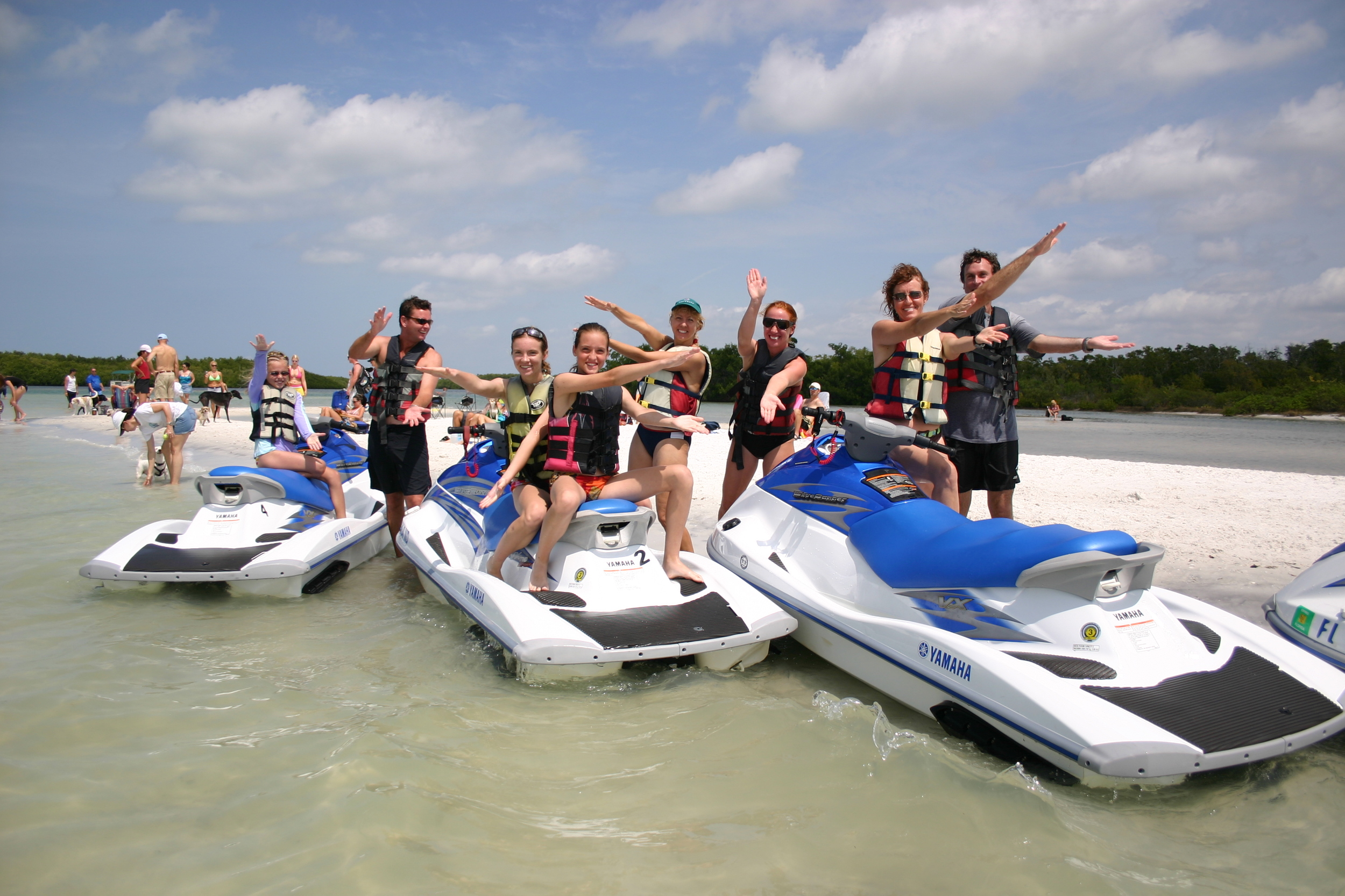 group waverunner rental Fort Myers Beach