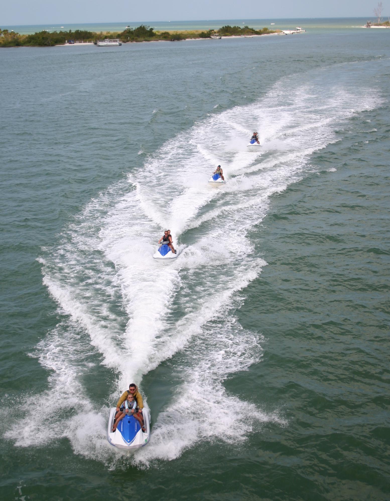fort myers beach group waverunner rentals