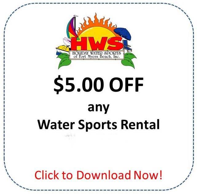 Watersports Rental Coupon Fort Myers Beach