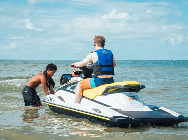Nothing beats this summertime heat like riding  jet skis in the Gulf of Mexico. Take out your own ski or go on one of our guided tours through Estero Bay!