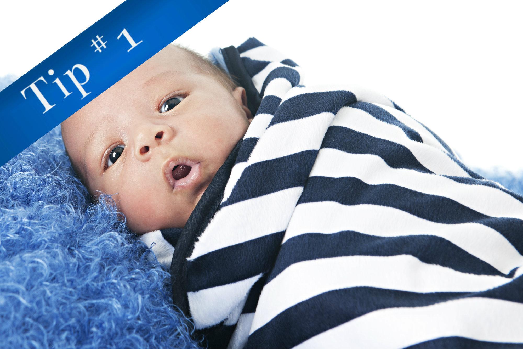 Newborns should get 14-17 hours of sleep per day.