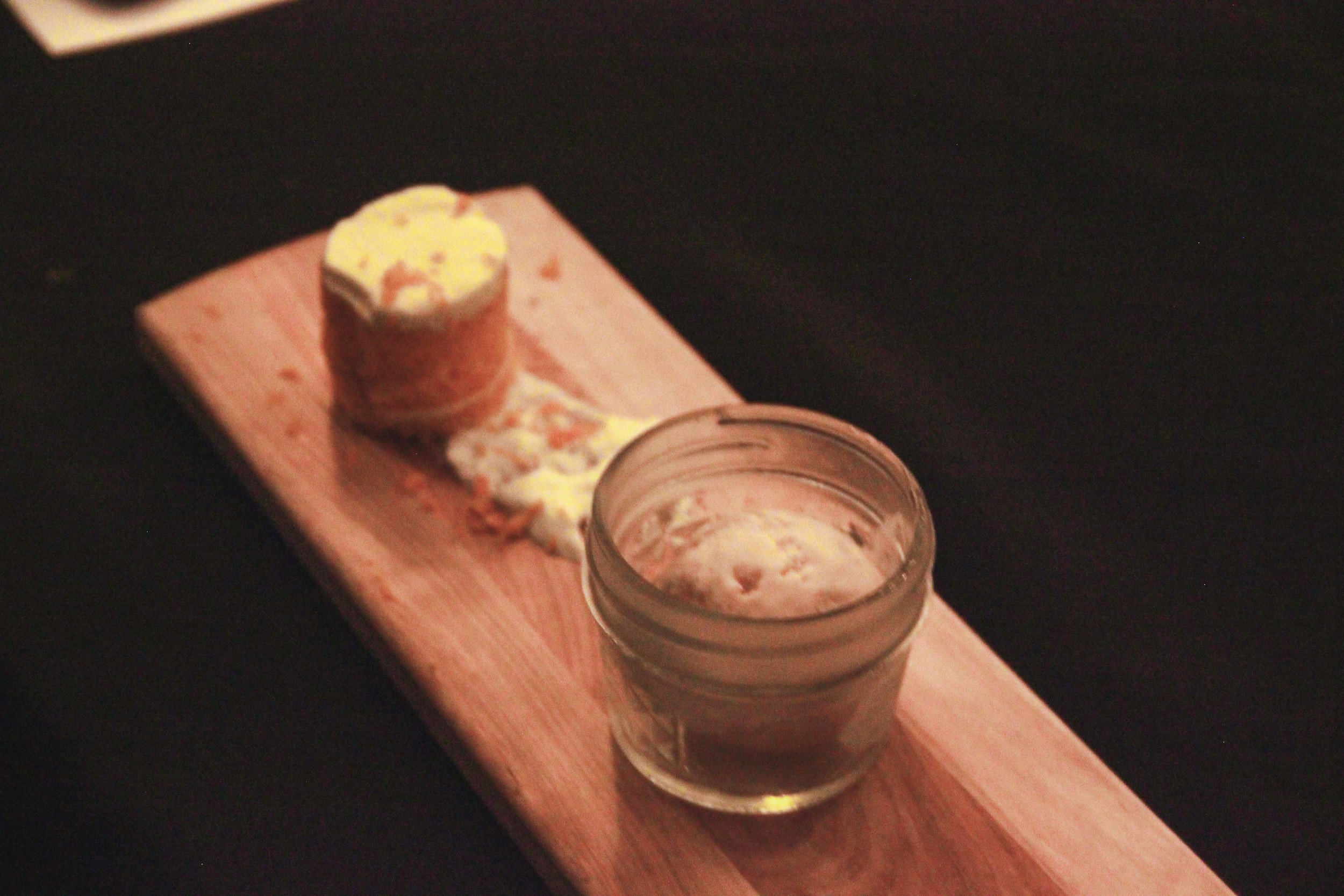 Orange Cake from Citrus and Chef's Choice Ice Cream from NQT. All of our Guests pretty much inhaled this.