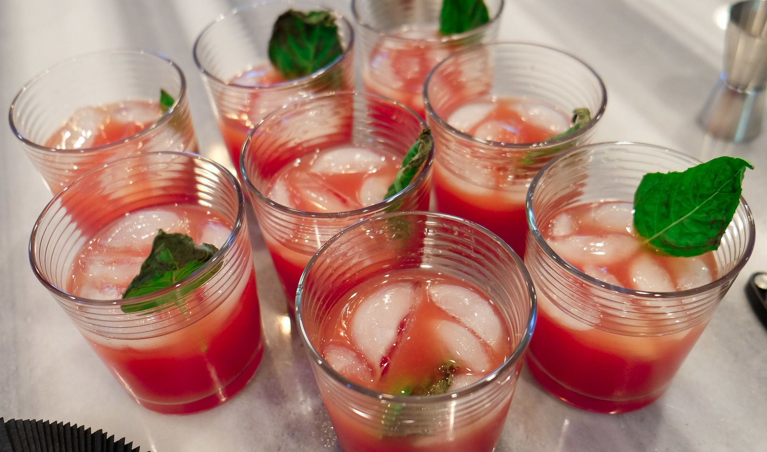 The NOVA Refresher:  Tin Cup Whiskey, Watermelon Puree, Fresh Squeezed Lime