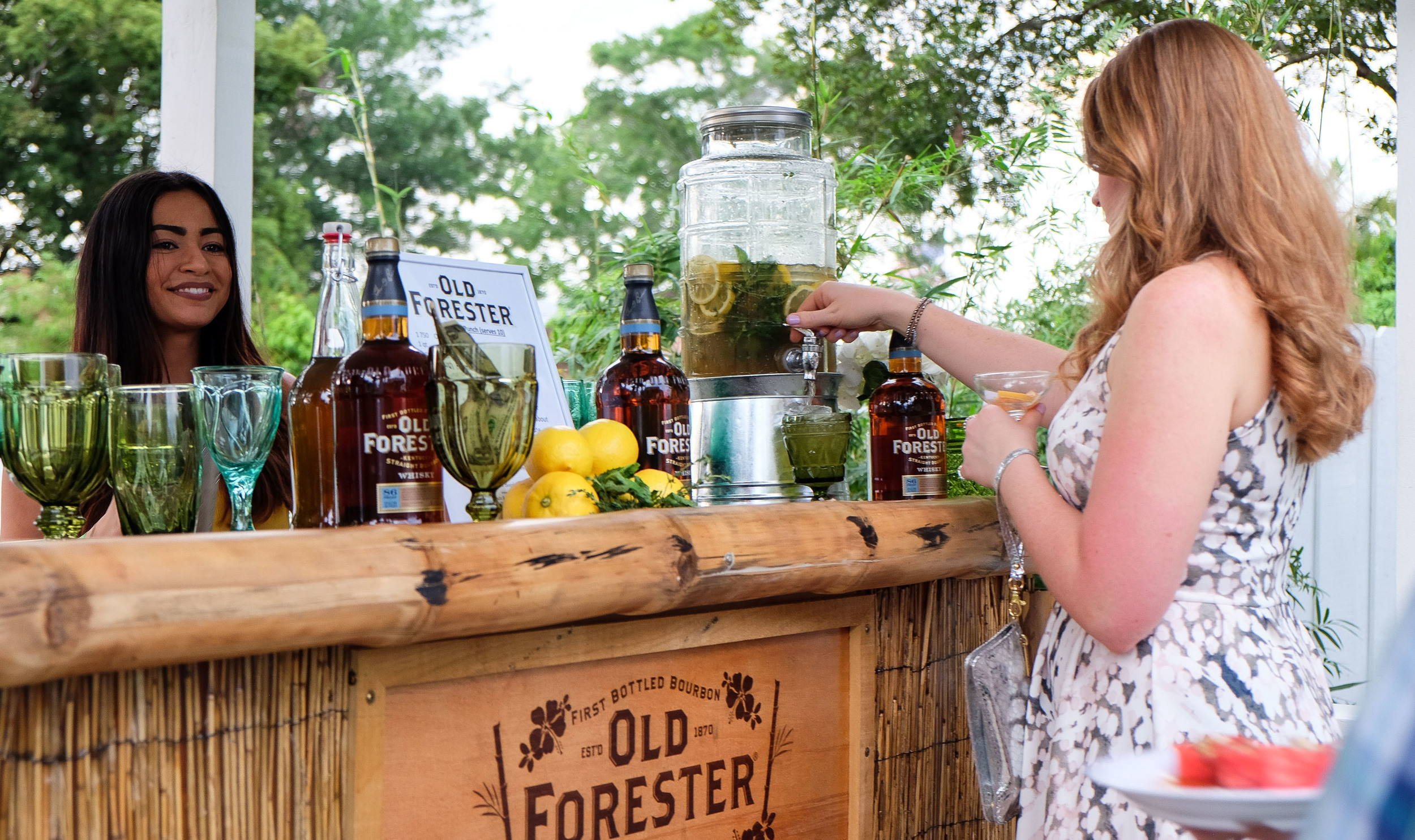 Tea Thyme Punch Bar by Old Forester