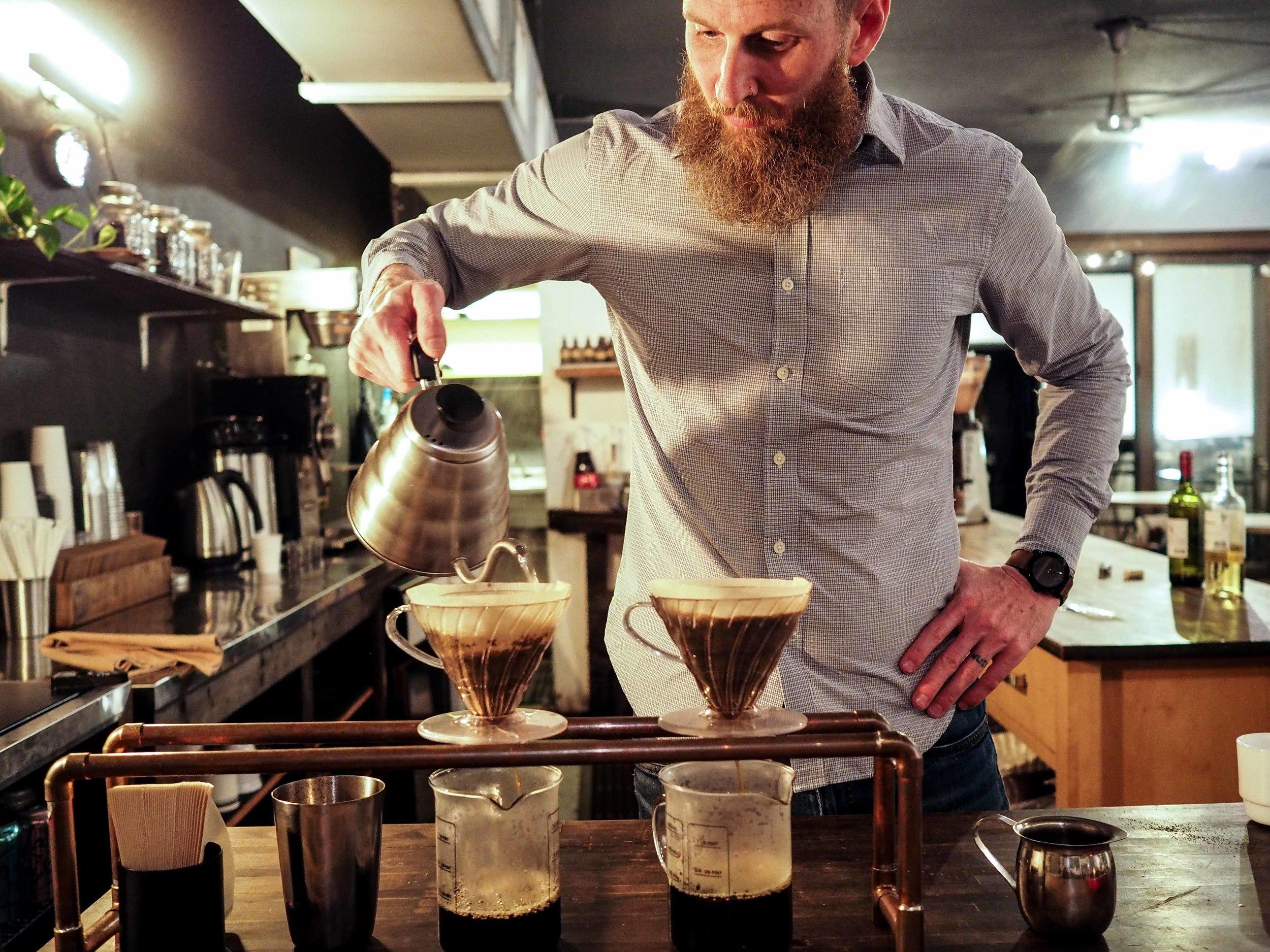 Downtown Credo Coffee Director, Jason Moore