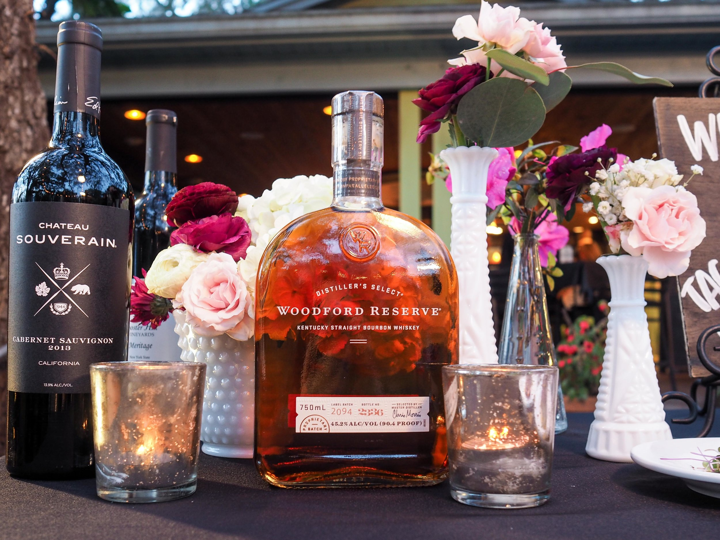 Special thanks to Woodford Reserve for sponsoring this evening's cocktails.