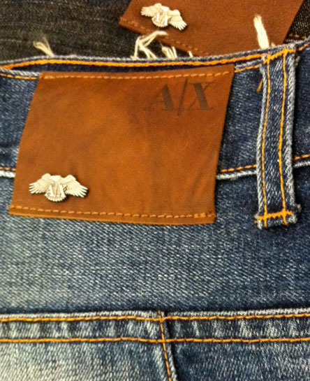 Armani Exchange Jeans Patch