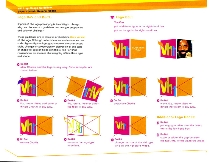 VH1 Style Guide