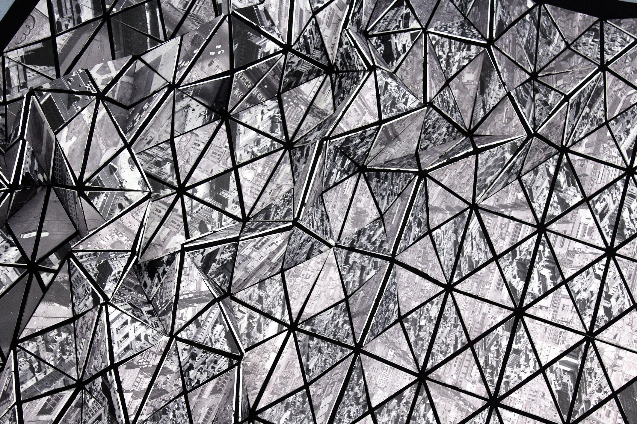 Quirarte + Ornelas / Estructura poligonal - Zócalo, 2016