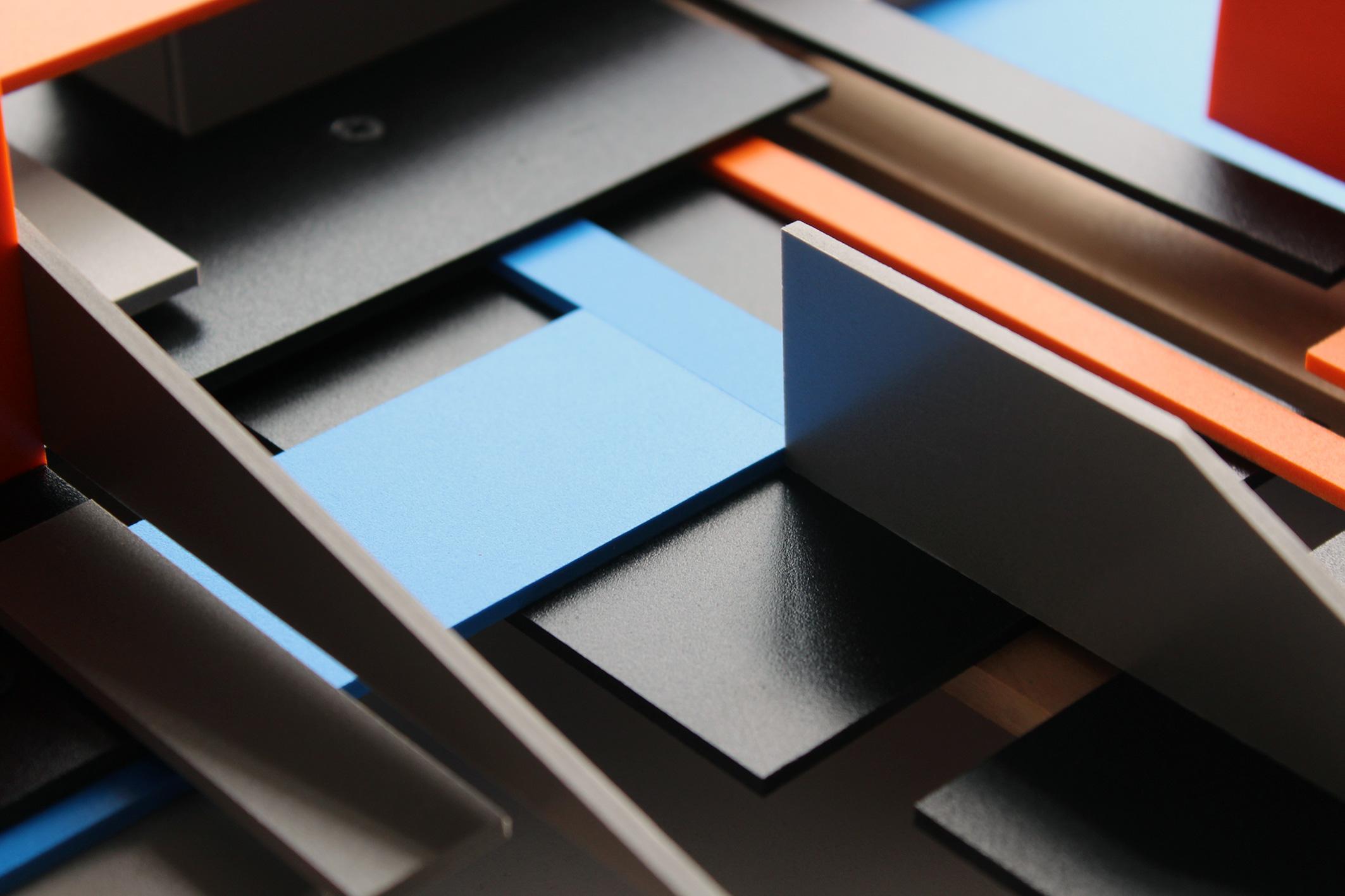 Extrapolación 2 , 2015. Acuarela sobre papel, 29 x 39 cm