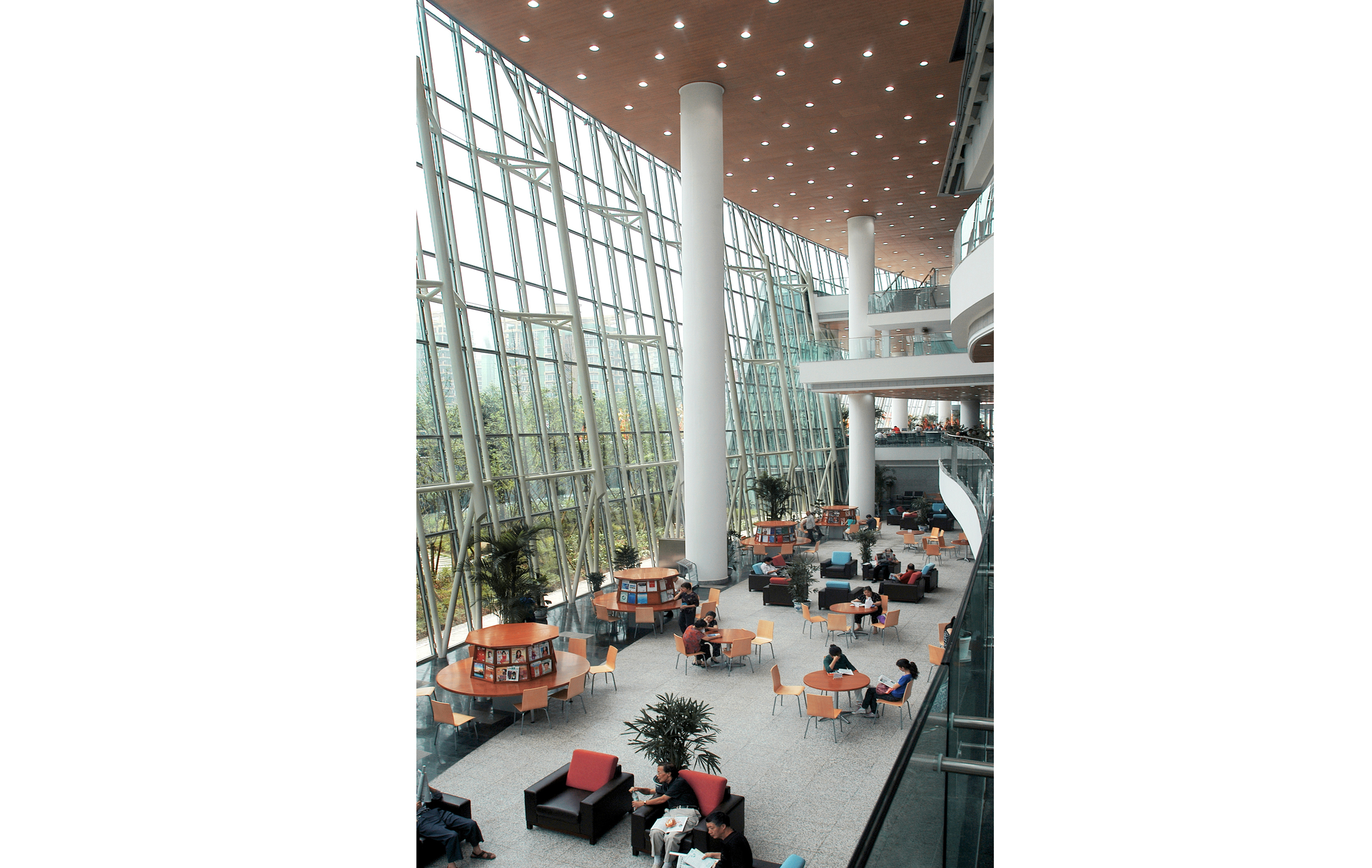 Chongqing Library Interior - Plan A