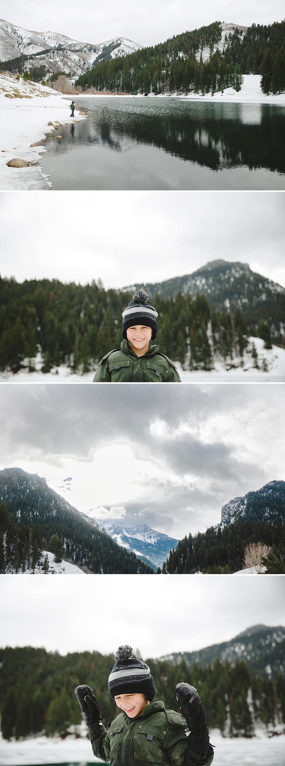 Summer Murdock Snow Winter Mountains