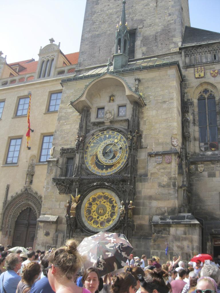 Famous Clock Prague