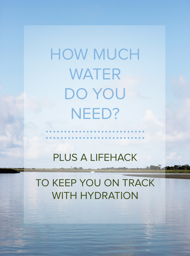 It used to be 8 by 8, but now doctors are recommending something different. How do you know if you're drinking enough and a simple idea to try to help you stay hydrated.